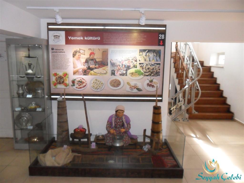 Yalova Kent Müzesi Yemek Kültürü