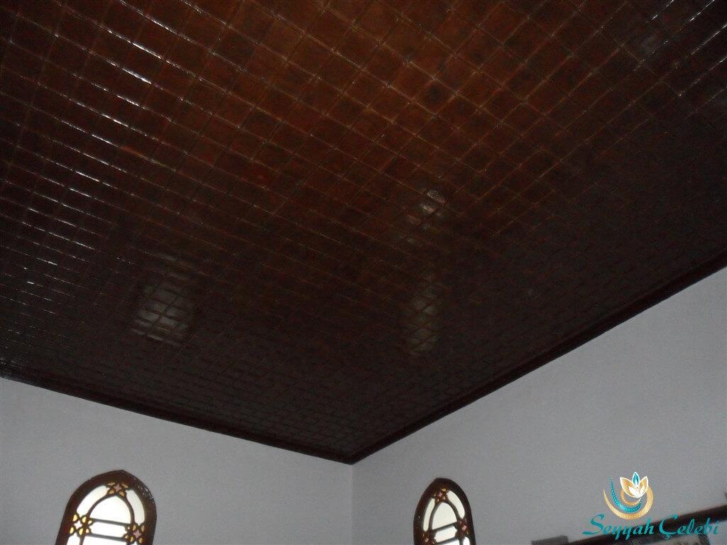 Rüstem Paşa Cami Tavan Süslemeleri