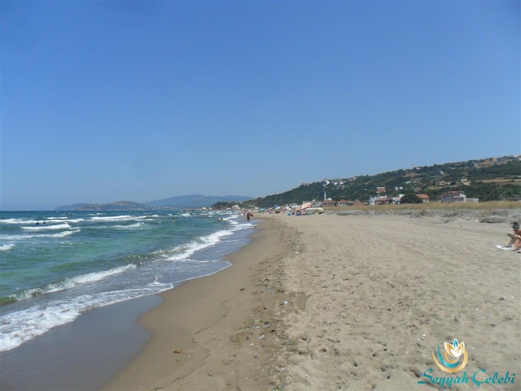 Eğerce Plajı Uzunluğu