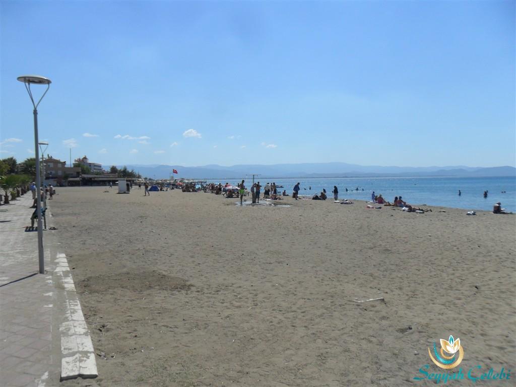 Akçay Plajı Kumsalı Sahili