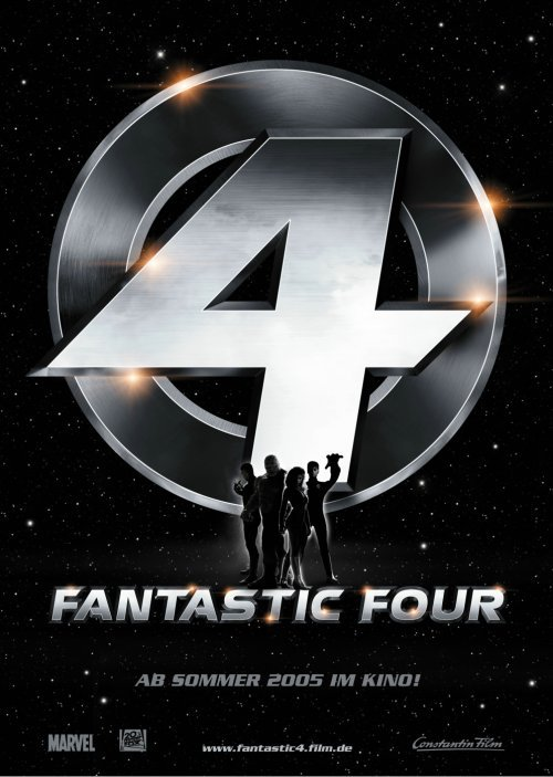 Kinoposter Zu Fantastic Four Die Fantastischen Vier