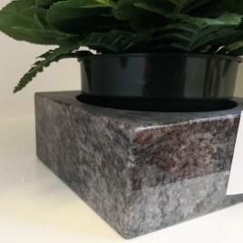 CALE-POT en granit MASS BLUE  CLP15