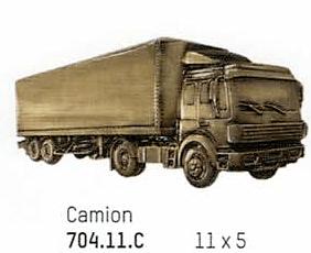 bronze camion