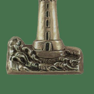 ORNEMENT EN BRONZE PHARE_4437