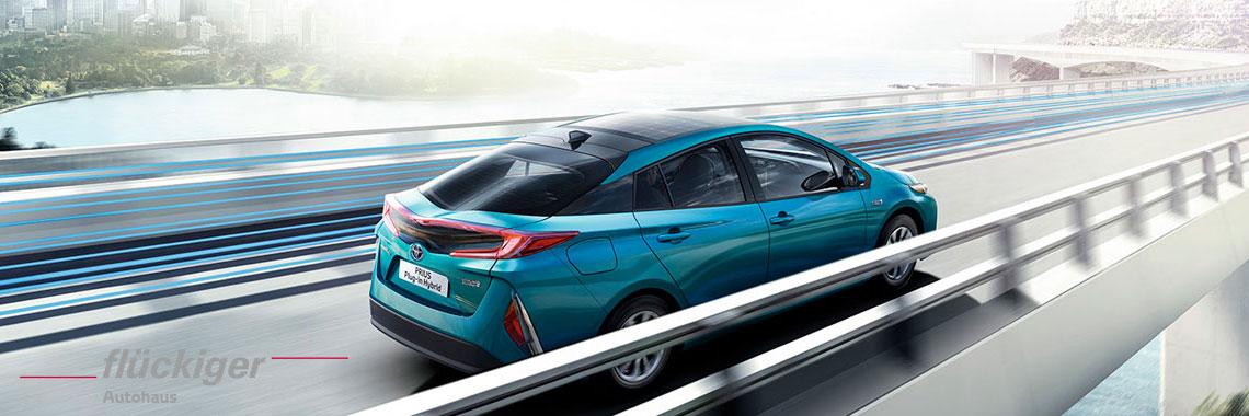 flückiger Autohaus - Toyota PRIUS Plug-in Hybrid entdecken