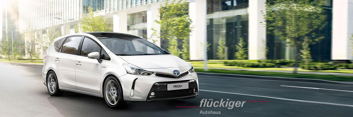 flückiger Autohaus - Toyota PRIUS+ Wagon entdecken