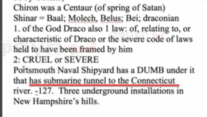 vaseis tunel underground dumbs 24 - Ο σατανικός υπόκοσμος και οι μυστικές βάσεις και τούνελ στη γη