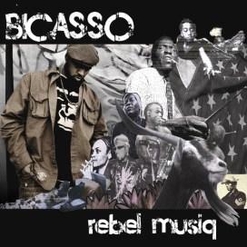 """The cover of Bicasso's """"Rebel Musiq"""""""