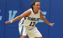 All the women's basketball players pictured on the SSU website are white, as are all the students shown in sports photos, except one Asian woman tennis player. This is Lauren Redfield, who has been named All-CCAA twice in her career.