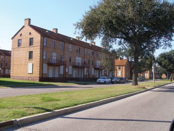 """Residents fought long and hard to return to their homes and beloved community in Lafitte after Katrina, but """"low-income housing advocates"""" sold them out. - Photo taken Dec. 5, 2007, by Karen Gadbois"""