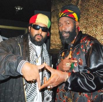 Ras Ceylon and Reggae King Capleton in Berkeley.