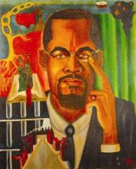 """""""The Malcolm X Experience"""" is the work of political prisoner Zolo Agona Azania."""