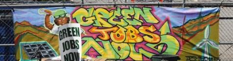 Green Jobs Now by Desi 360 at GreentheBlock.net