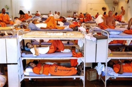 Not only is overcrowding in California prisons so severe as to amount to cruel and unusual punishment, the judges ruled on Aug. 4, but these fathers, husbands and sons are locked away from their lonely families, who desperately need them to survive these hard times. Tell Jerry Brown to let them go home! – Photo: CDCR