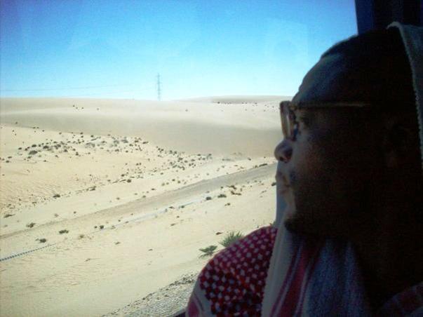 """The road to Rafah, Viva Palestina ..."" – M-1"