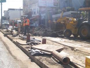 No Blacks working on this stretch of Divisadero - Photo: Francisco Da Costa