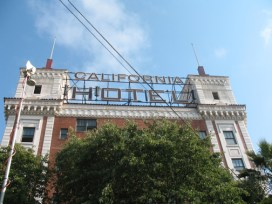 When OCHI abandoned the stately old California Hotel, the tenants didn't. They took over management and are doing a better job than the John Stewart Co. had in keeping the building clean and well maintained. - Photo: Reginald James