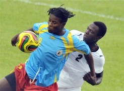 Congo Leopards star Mabi Mputu was named Best Player by the African Football Confederation. - Photo: AFP