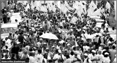 In Guadeloupe, 65,000 marched on Jan. 30. – Photo: Courtesy ILC