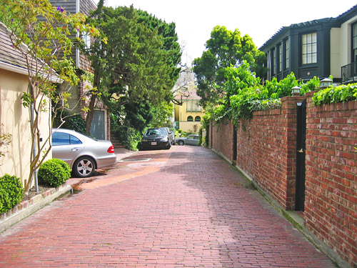 Russian Hill Alley