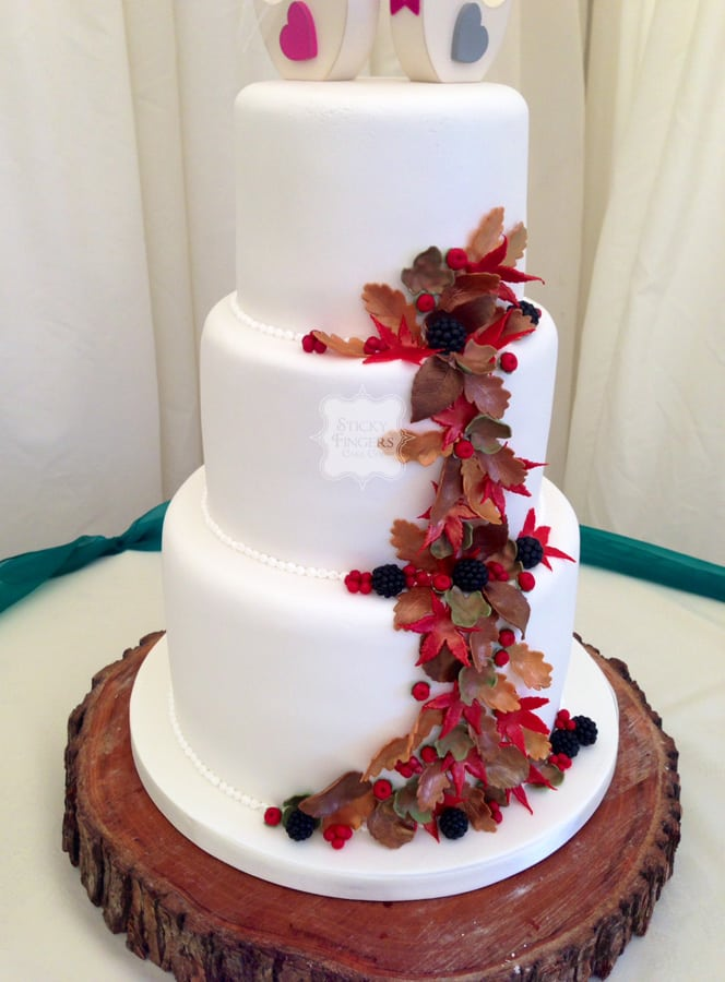 Other Wedding Cakes Archives   Sticky Fingers Cake Co Wedding Cake Chelmsford     Newland Hall  20th November 2015