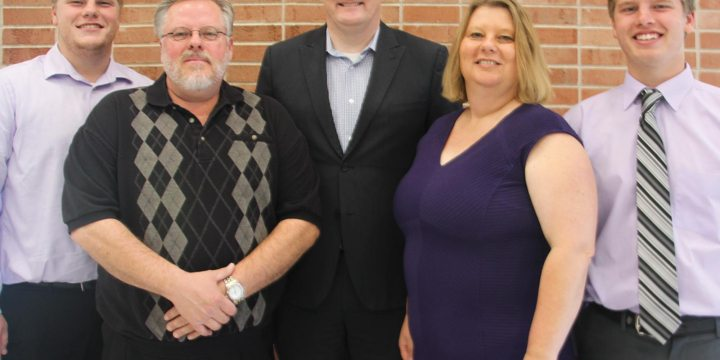 Mount Marty College recognizes family of the year