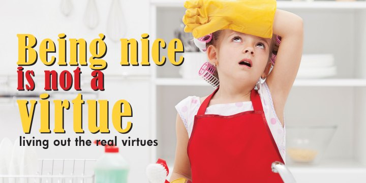 Being nice is not a virtue