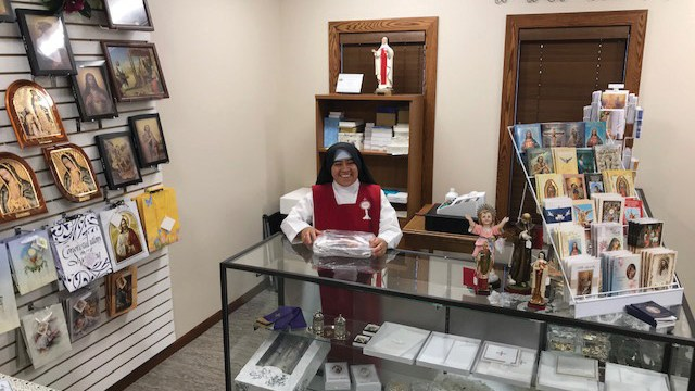 Adoration Sisters open gift shop at monastery