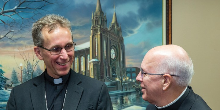 Bishop-elect Donald DeGrood thankful for God's graces and rural roots in new assignment