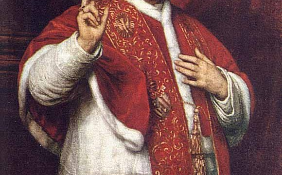 What does papal infallibility refer to?