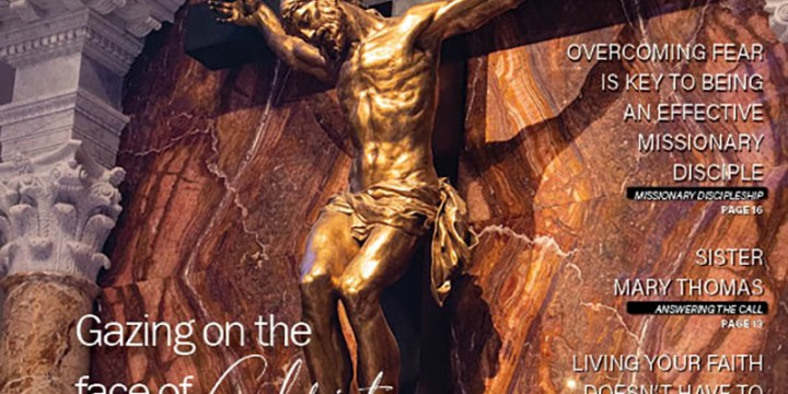April 2021 Gazing on the face of Christ: The freedom and love of the cross