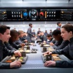 Ender's Game… at Battle School, you eat for free.