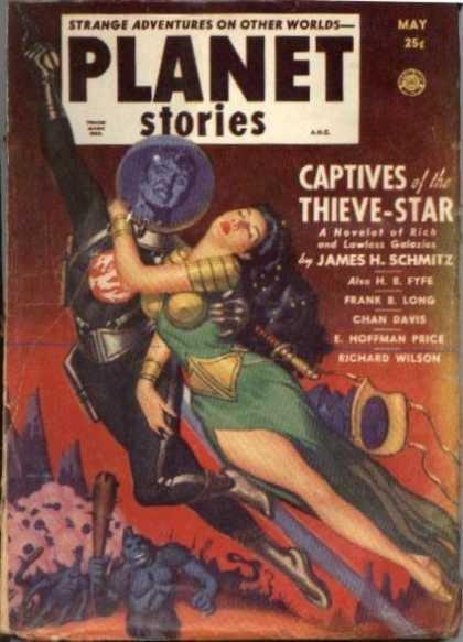 Planet Stories Pulp.