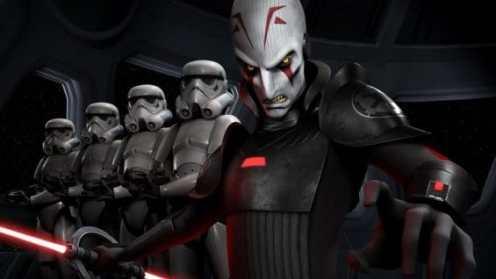 Star Wars Rebels gets some trailer action.
