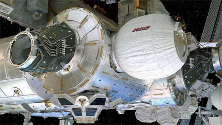 Blow-up Space Stations? NASA's bouncy castle in orbit.