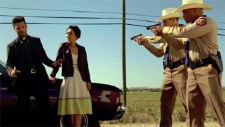 Preacher (second season mayhem) trailer.