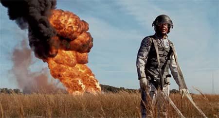 First Man (science drama movie trailer).