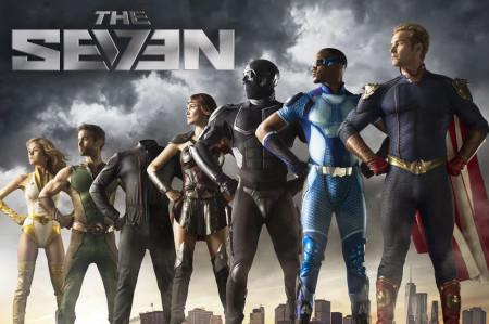 The Boys (superhero trailer: coming to Amazon Prime).