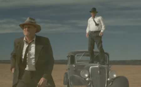 The Highwaymen (Netflix crime movie trailer with Kevin Costner and Woody Harrelson).