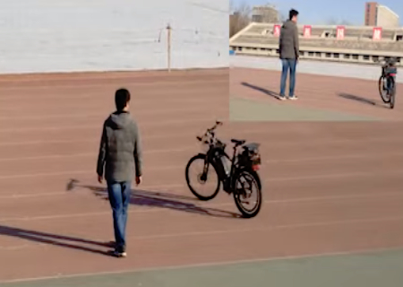 Unmanned Terminator bicycle is coming for you (tech news).