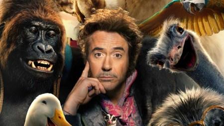Dolittle (film trailer: from Iron Man and Sherlock Holmes to animal whisperer).