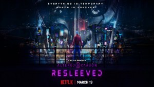 Altered Carbon: Resleeved (Netflix anime: trailer).