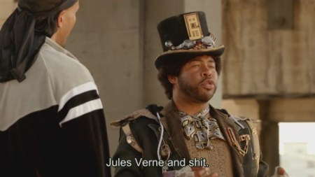 How to deal sensitively with a chum who goes steampunk? (instructive video)