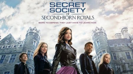 Secret Society of Second Born Royals (spy-fy film: trailer).