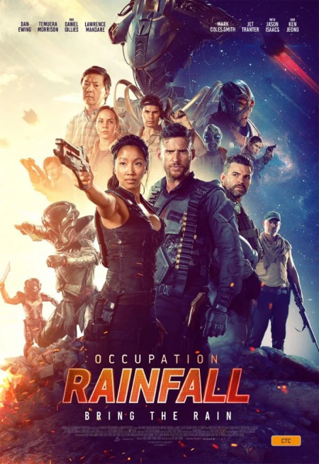 Occupation: Rainfall: the aliens will invade Australia, again - but Temuera Morrison can stop them (scifi film: trailer).