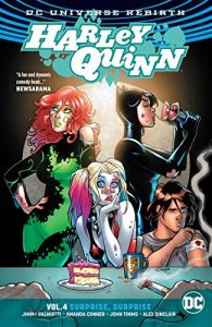 Harley Quinn Vol. 4: Surprise, Surprise by Jimmy Palmiotti, Amanda Conner, John Timms and Alex Sinclair (graphic novel review)