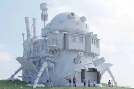 Studio Ghibli theme park to build a life-size Howl's Moving Castle.