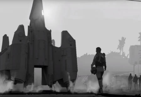 The Last Starfighters sequel: concept art (video).