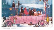 Heath Robinson: Masterpieces Of Art by Susan Grange pp110–11 (The Kinecar): Courtesy of Mary Evans Picture Library/© Illustrated London News Ltd.
