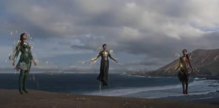 Eternals (Marvel superhero movie: 2nd trailer).